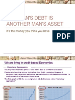 One Man's Debt is Another Man's Asset