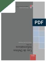 Informe - Ley de Delitos Informaticos