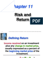 Risk & Return Pp