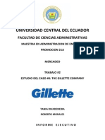 Caso 6 the Gillette Company
