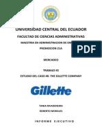 Caso 6 the Gillette Company