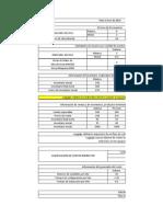 Excel Costos