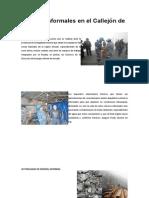 Mineras Informales en El Callejón de Huaylas