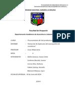 Informe de Extaccion Quitosano