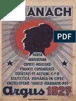 Almanah Argus 1927