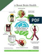 7 tips for Alzheimer's prevention