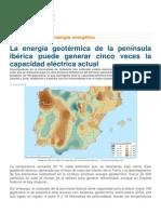 Energía Geotérmica en La Península Ibérica