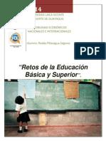 Ensayo - Retos de La Educacion