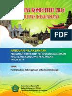Booklet Kompetitif 2014