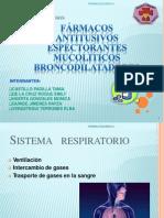 (148168216) SESION15_Farmacos Antitusivos, Mucolitos, Expectorantes y Antiasmaticos