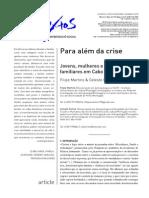 Celeste Fortes e Filipe Martins