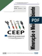 Apostila Mineração e Meio Ambiente - Min 2013.1