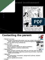 Positive Parent Involvement