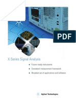 x Series Signal Analyzer