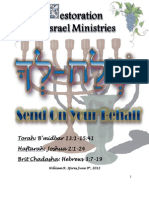 Sh'lach Lecha_Send On Your Behalf