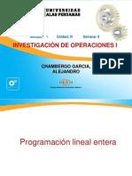 12-Investigacion Operativa I- Ing Industrial Programacion Lineal Entera