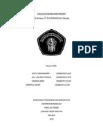 Analisis Manajemen Resiko (Aditya,Iklil,Tanwirul,Andreas)