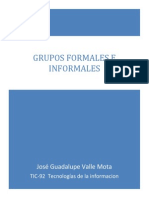 Grupos Formales e Informales