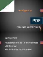 Inteligencia modelos generales