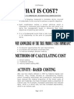 Activity Based Coting Examples