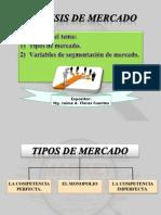 Tipos de Mercado y Variables de Segmentación