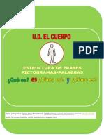 Cuadernillo Estructura Frases COMO ES UD EL CUERPO