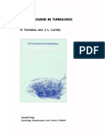 A First Course in Turbulence (Tennekes H., Lumley J.L)