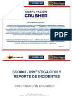Sso003 - Investigacion y Reporte de Incidentes