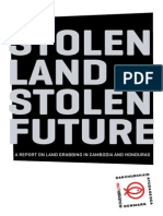 Stolen Land, Stolen Furture