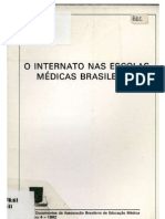 0 internato nas escolas médicas brasileiras