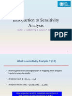Slides - Introduction to Sensitivity Analysis