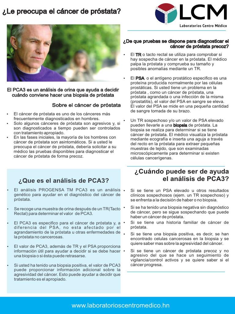 pca3 prostata