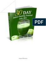Juice Fasting Journal