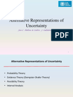 Slides - Alternative Representation of Uncertainty