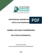 3 Relatório de Química