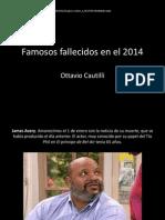 Famosos fallecidos en el 2014.pptx