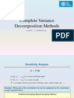 Slides - Complete Variance Decomposition Methods
