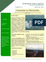 Boletin Depto Tecnico Agricola MAYO 2012