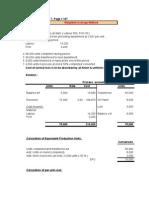 Process Costing Examples (Matz Uzry)