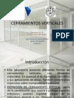 Cerramientos. Seccion b Juan Gonzalez Clave 29 -201130819