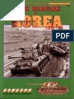 Tank Warfare in Korea 1950 1953