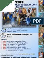 Profil Balai Perikanan Budidaya Laut Batam (Romi Novriadi)