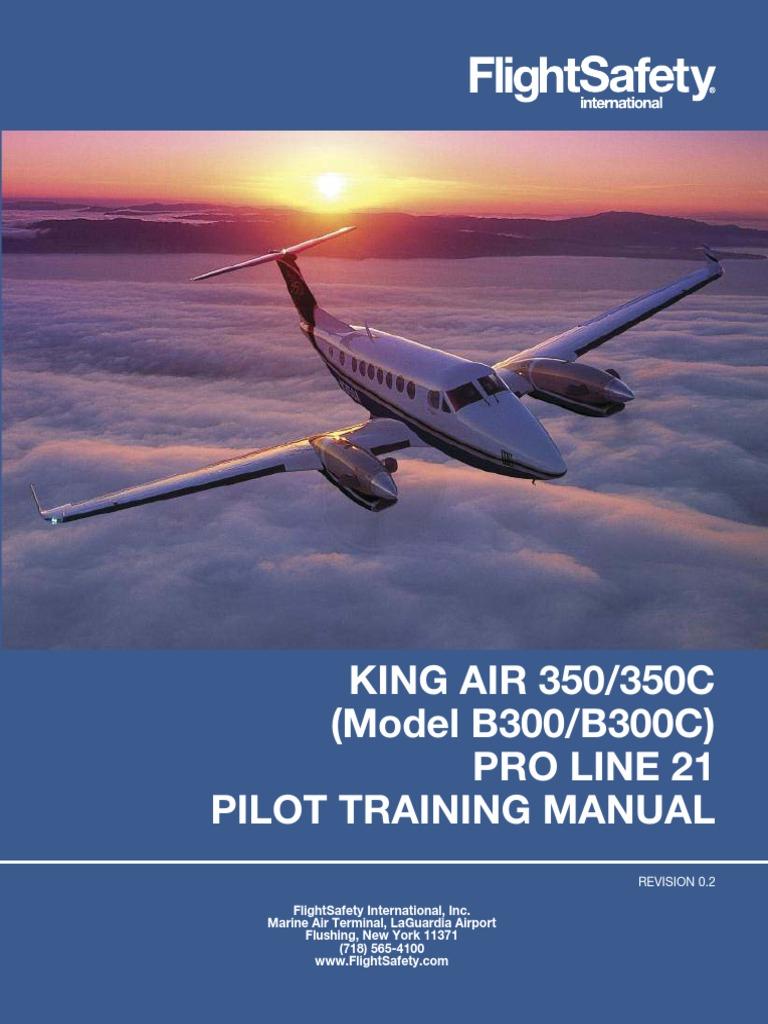beechcraft be350 350c flight control surfaces power inverter rh scribd com carenado king air 350i manual king air 350 manual