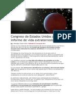 congreso de estados unidos analiza informe de vida extraterrestre