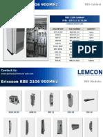 Ericsson Rbs 2106 900mhz