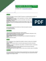 Resumen de Conceptos de Técnica y Táctica