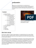 Black Hole Thermodynamics - Wikipedia, The Free Encyclopedia