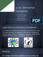 falta a los derechos humanos
