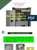 Unidade 2 - Medidas e Algarismos Significativos_2009