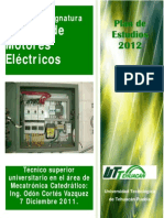 Manual de Asignatura Control de Motores Electricos